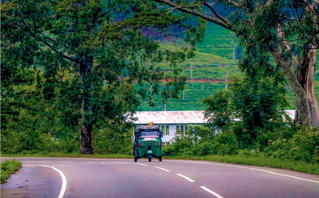 Sri Lanka - Magazine cover